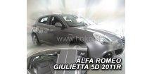 Ofuky oken Alfa Romeo Giulietta 2010-2018 (+zadní)