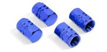 Čepičky ventilků ozdobné - modré