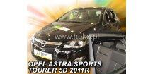 Ofuky oken Opel Astra J 2010-2015 (+zadní) Combi