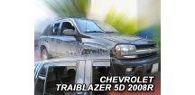 Ofuky oken Chevrolet Traiblazer 2001-2008 (+zadní)