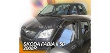 Ofuky oken Škoda Fabia II 2007-2014 (+zadní) Combi