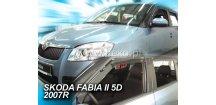 Ofuky oken Škoda Fabia II 2007-2014 (+zadní) htb
