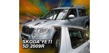 Ofuky oken Škoda Yeti 2009-2017 (+zadní)