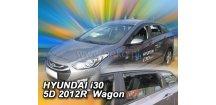 Ofuky oken Hyundai i30 II 2012-2017 (+zadní) CW Combi