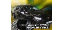 Ofuky oken Chevrolet Cruze 2012-2015 (+zadní) SW Combi