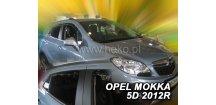 Ofuky oken Opel Mokka 2012-2018 (+zadní)