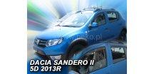 Ofuky oken Dacia Sandero/Stepway II 2013-2018 (+zadní)