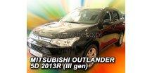 Ofuky oken Mitsubishi Outlander III 2012-2017 (+zadní)