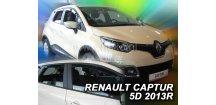 Ofuky oken Renault Captur 2013-2018 (+zadní)