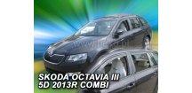 Ofuky oken Škoda Octavia III 2013-2017 (+zadní) Combi