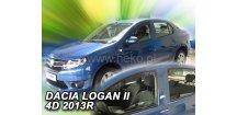 Ofuky oken Dacia Logan II 2012-2018 (+zadní)