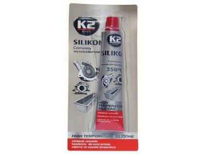 Silikon pro utěsnění části motoru červený 85g - K2