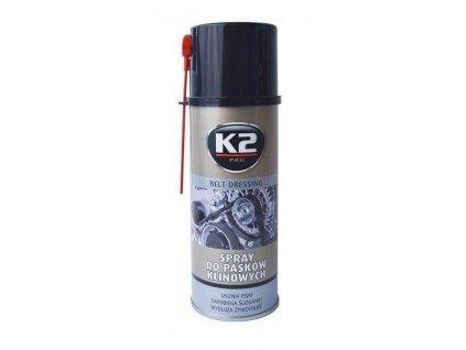 Sprej na klínové řemeny - K2