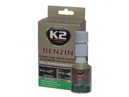 Aditivum do paliva BENZIN 50 ml - K2
