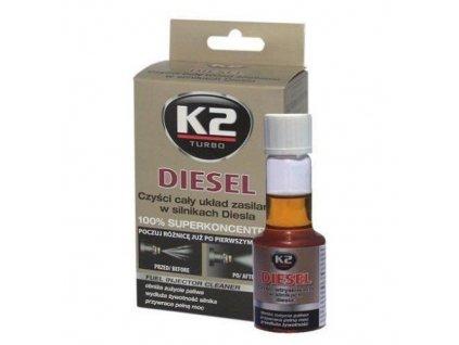 Aditivum do paliva DIESEL 50 ml - K2