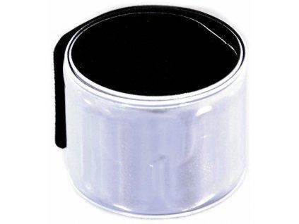 Reflexní pásek stříbrný ROLLER