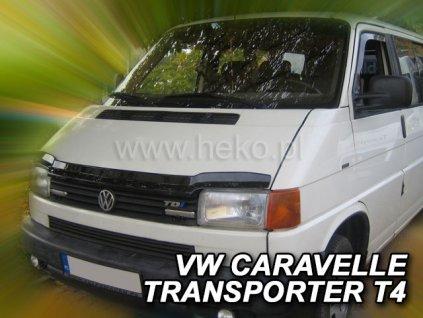 Deflektor kapoty VW T4 Caravelle 1990-1998 (rovná světla)