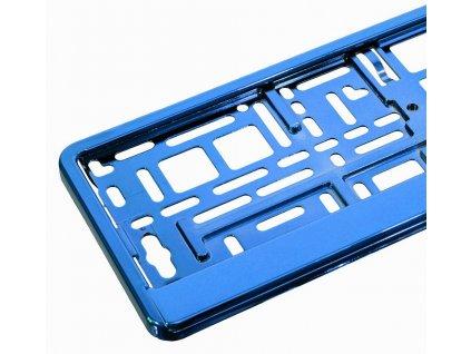 Podložka pod SPZ BLUE metallic