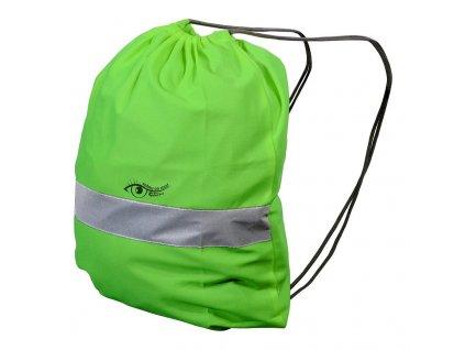 Batoh reflexní S.O.R., zelený