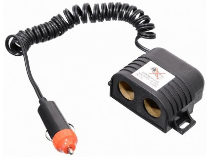 Rozdvojka 12/24V s kabelem