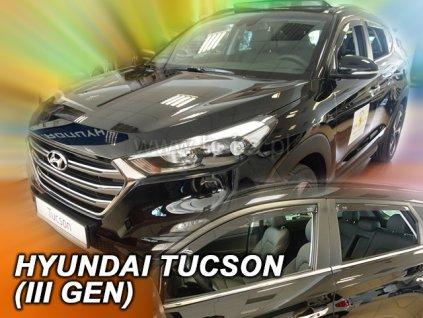 Ofuky oken Hyundai Tucson 2015-2018 (+zadní)