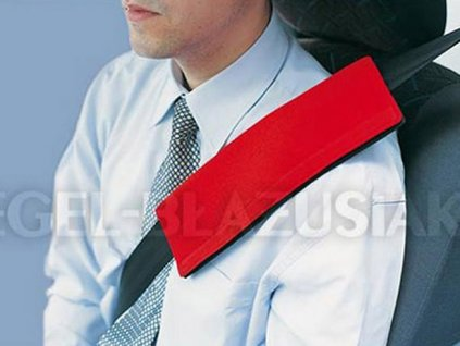 27156 potah na bezpecnostni pas cerveny