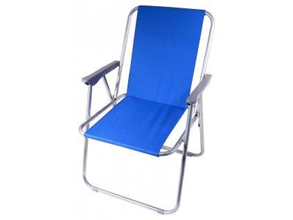 Kempingová židle BERN • skládací • modrá