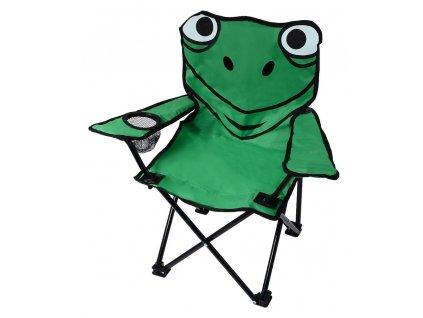 Kempingová židle FROG • skládací • dětská