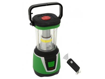 Kempingová LED svítilna • dálkové ovládání • 300 lm