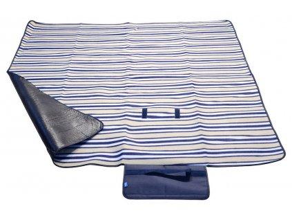 Pikniková deka FLEECE • modrá
