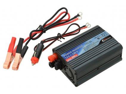 Měnič napětí 12/230V 300W • USB