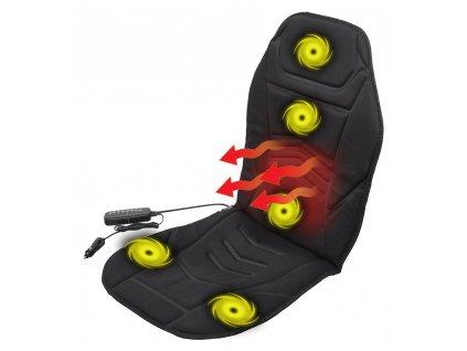 Potah sedadla vyhřívaný 12V • s masáží