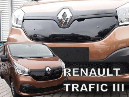 Zimní clona Renault Trafic III 2014-2020 • horní