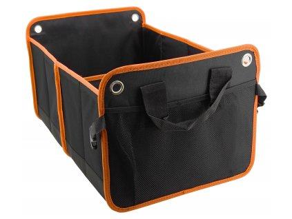 Organizér do kufru auta ORANGE • 54 x 34 cm