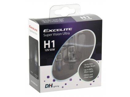 Žárovka H1 EXCELITE BLUE SVU +80% 55W • 2ks