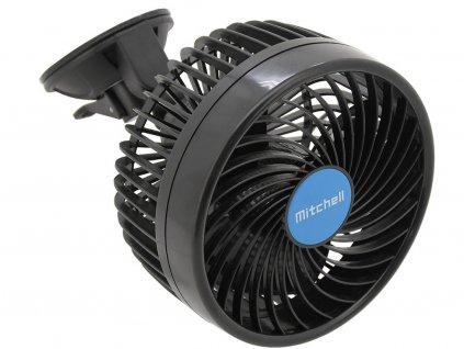 Ventilátor MITCHEL 24V • na přísavku • 15 cm