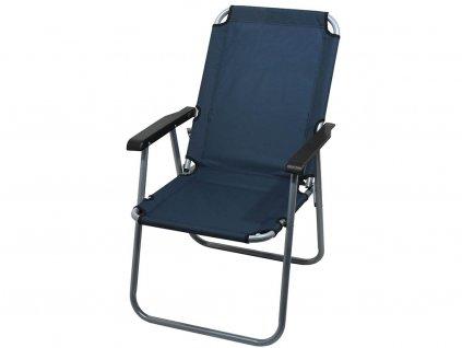 Kempingová židle LYON • skládací • modrá