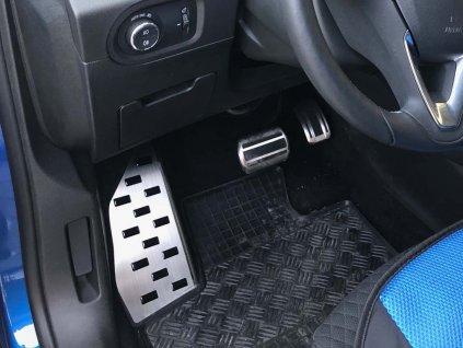 Opěrka nohy Peugeot 5008 II 2017-2019 • nerezová