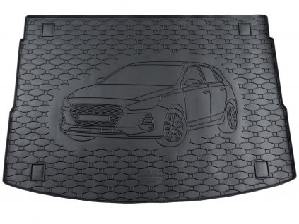 43845 vana do kufru hyundai i30 iii 2017 2020 hatchback horni posuvne dno gumova