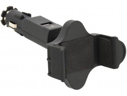 Držák telefonu SOCKET do autozásuvky • USB