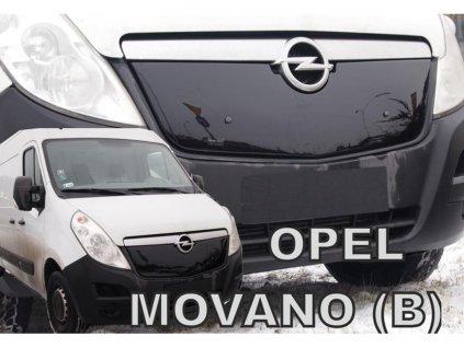 Zimní clona Opel Movano B 2010-