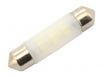 Žárovka 6LED SMD 12V sufitka 10x39 SV8.5 CAN-BUS modrá 2 ks