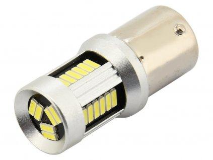 Žárovka 30 SMD LED 12V Ba15S s rezistorem CAN-BUS ready bílá