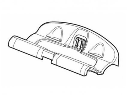 Dosedací plast ráfku k nosiči kol 591