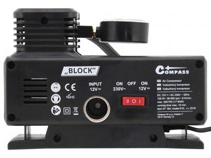 Kompresor 12/230V BLOCK TÜV/GS