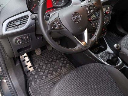 Opěrka nohy Opel Corsa E 2014-2019 • nerezová