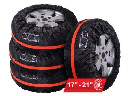 """Návlek na pneu • pro 17"""" - 21"""" kola • v sadě 4 ks"""