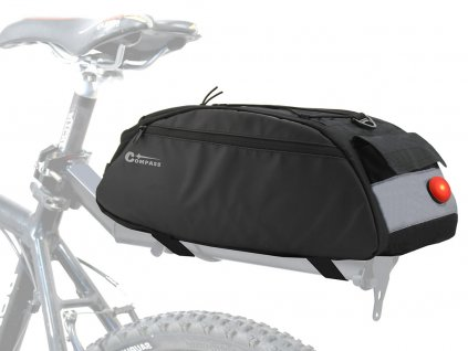 Cyklotaška na zadní nosič • LED svítilna
