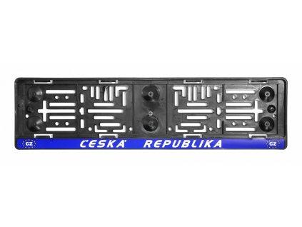 Podložka pod SPZ ČR - EU