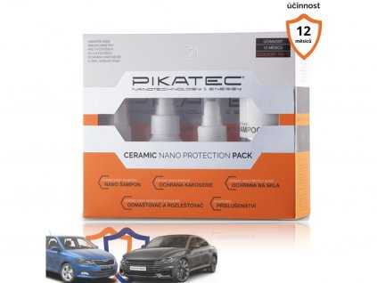 Sada nanokosmetiky na auto Ceramic • Pikatec
